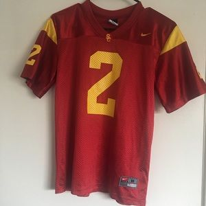 NIKE USC Trojans Football Jersey M youth